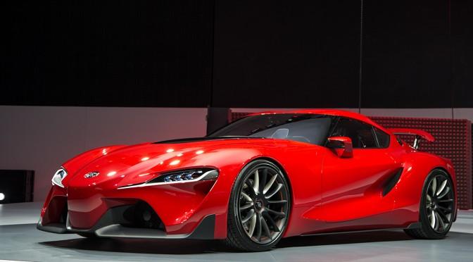 Toyota voiture du futur