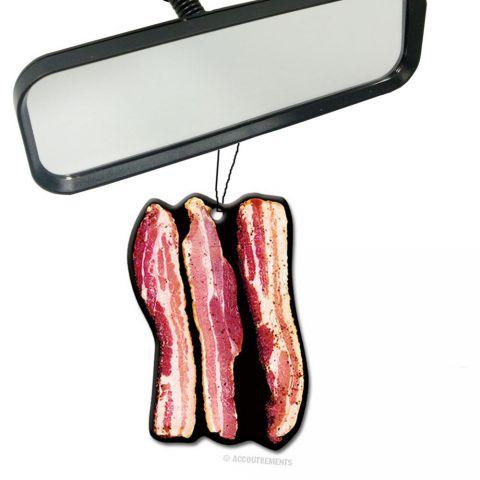 désodorisant voiture bacon gadget