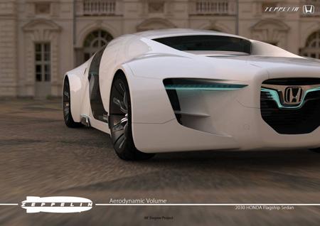 concept-car voiture du futur design