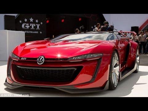 concept car voiture du futur VW GTI