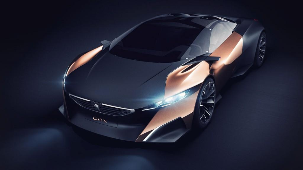 concept car peugeot design voiture du futur